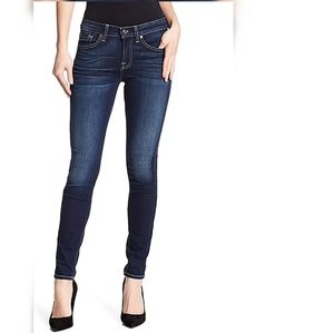 7 for all mankind jeans gwenevere dark wash sz 24